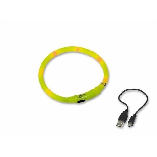 Nobby Led Köpek Boyun Tasması Visible Sarı Medium 40Cm 78230