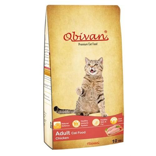 Obivan Adult Cat Tavuklu Yetişkin Kedi Maması 10 Kg