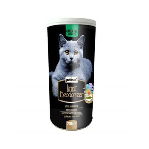 Patimax Deodorizer Yeşil Çay Kedi Kumu Koku Tozu 700 Gr