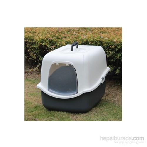 Flip Şeffaf Kapaklı Kedi Tuvaleti