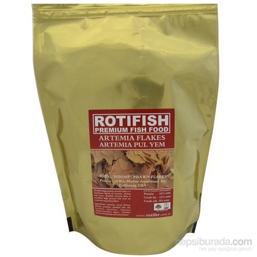 Rotifish Artemia Flake 200Gr. (Artemia Pul Yem)