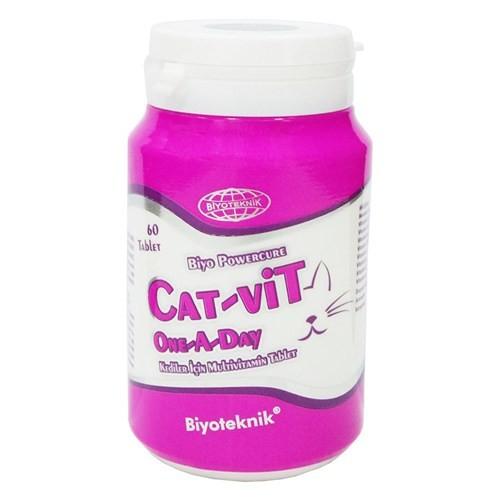 Biyoteknik Catvit One A Day Kediler İçin Multivitamin Tablet