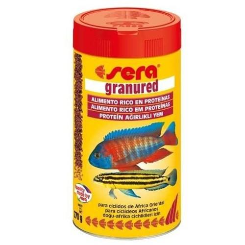 Sera Granu Red Etçil Balık Yemi 1000 Ml