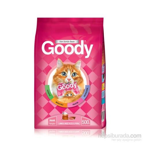 Goody Kuzu Etli Pirinçli Yetişkin Kedi Maması 500 gr