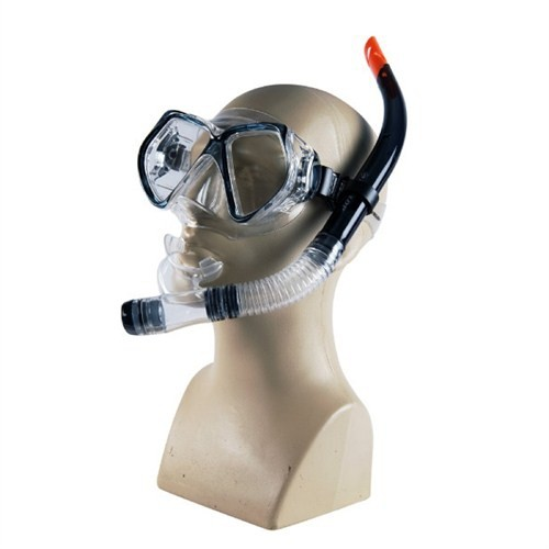 Dunlop Mavi Renk Maske/Şnorkel Set MP4206PC & SN01P - Mavi