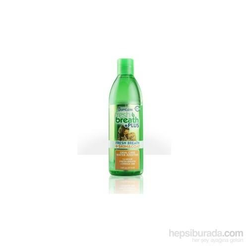 Tropiclean Oral Care Water Additive Skin Ve Coat Kedi Ve Köpekler İçin Ağız Suyu Ve Katkı Maddesi 473 Ml