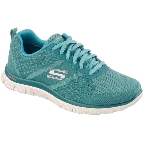 Skechers Flex Appeal Kadın Turkuaz Spor Ayakkabı (12076-Turq)