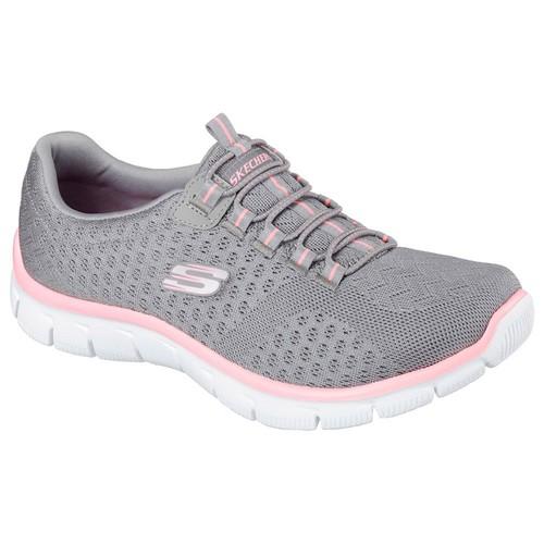 Skechers Empire-Ocean Kadın Gri Spor Ayakkabı (12406-Gyhp)