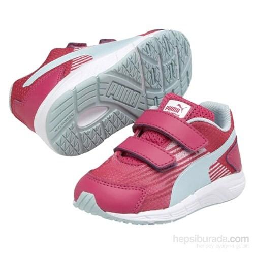 Puma Sequence V Bebek Pembe Spor Ayakkabı (358663-061)