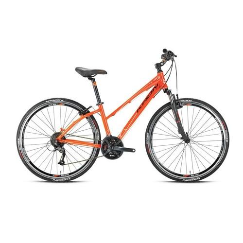 """Kron Tx 450 Lady 28 Jant City 17"""" 27 Vites V-Fren Kizil - Siyah Şehir Bisikleti"""