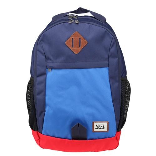 Vans Skooled Backpack Lacivert Mavi Kırmızı Erkek Sırt Çantası