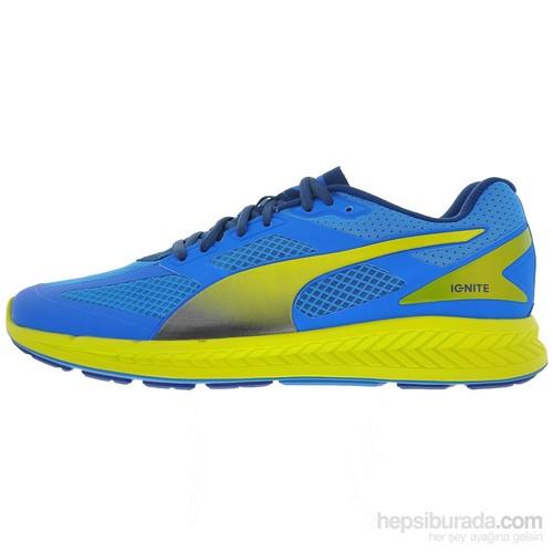 Puma Ignite Mesh Erkek Mavi Koşu Ayakkabısı (188584-01)