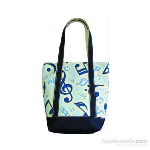 Mavi Notalı Çanta