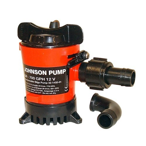 Johnson Pump L 650 24V 972 GPH 61 L/dk Sintine Pompası