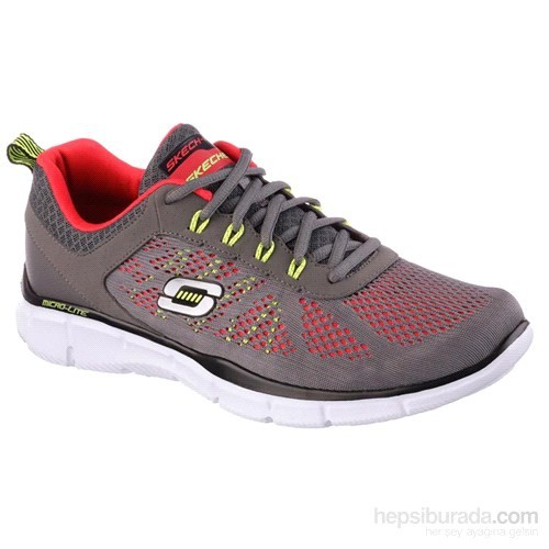 Skechers Equalzer- Deal Maker Grı/Krmz 41-45