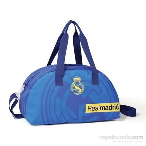 Real Madrid Spor Çantası Mavi