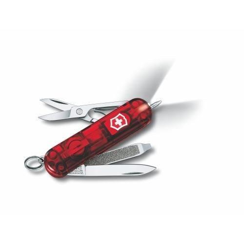 Victorinox Çakı Signature Lite Şeffaf Kırmızı 0.6226.T