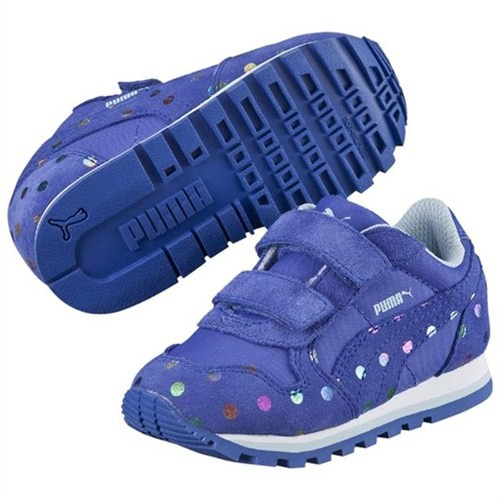 Puma Çocuk St Runner Dotfetti V Kids Dazzling Blue- 35982601