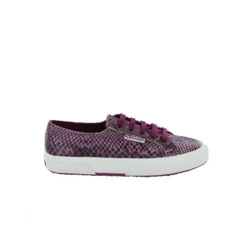 Superga S0080C0-971 2750 Cotsnakew Snakeviolet Dkviolet Kadın Günlük Ayakkabı