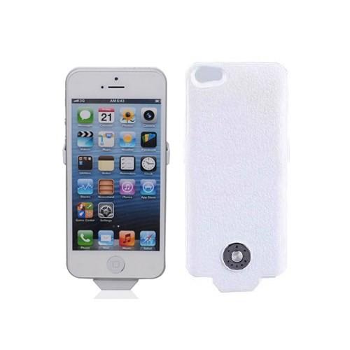 Microsonic iPhone 5/5s Şarjlı Kılıf Beyaz (2500 mAh)