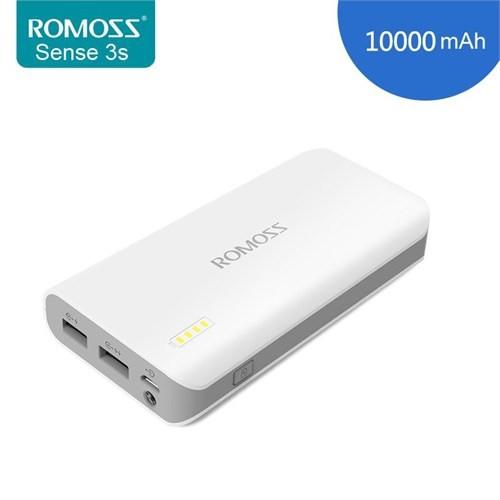 Romoss Sense 3S 10.000 Mah Portatif Şarj Cihazı