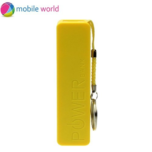 Mobile World 2600 mAh Taşınabili Şarj Cihazı Sarı - IM11752