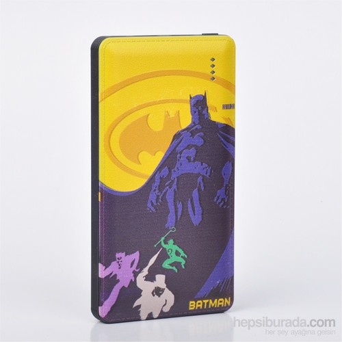 Thrumm Lisanslı Power Bank Batman Yellow Sky 8000Mah