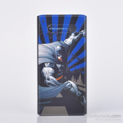 Thrumm Lisanslı Power Bank Batman Blue Side 12000Mah
