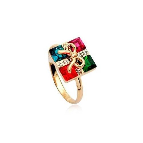 Betico Fashion Renkli Hediye Paketi Yüzük