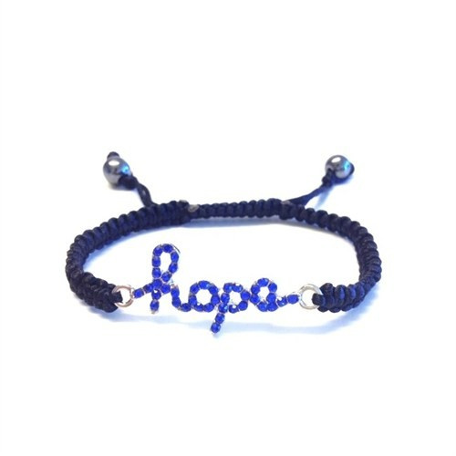 Betico Fashion Mavi Hope Makrome Bileklik