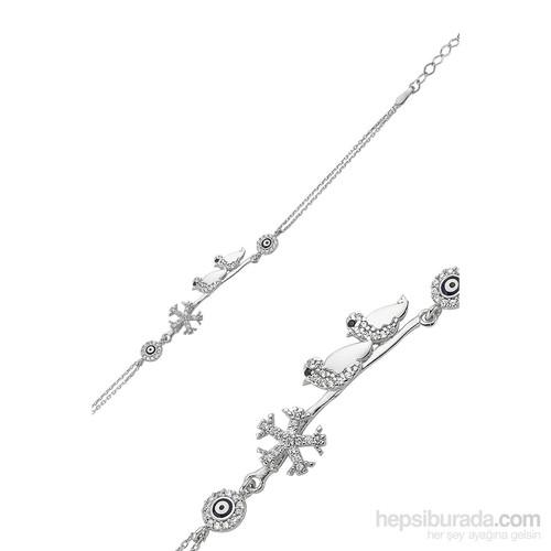 Olivin Accesories Gümüş Çalıkuşu Bileklik 431796