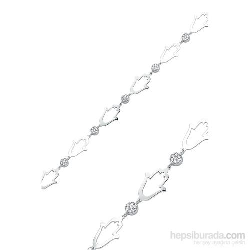 Olivin Accesories Gümüş Fatma Nın Eli Bileklik 431838