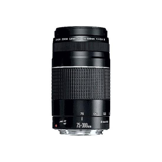 Canon Ef 75-300MM F/4-5.6 III Objektif