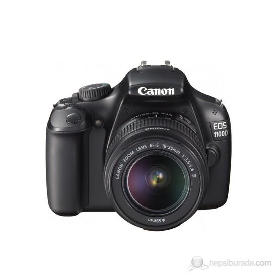 Canon Eos 1100D 18-55mm SLR Dijital Fotoğraf Makinesi
