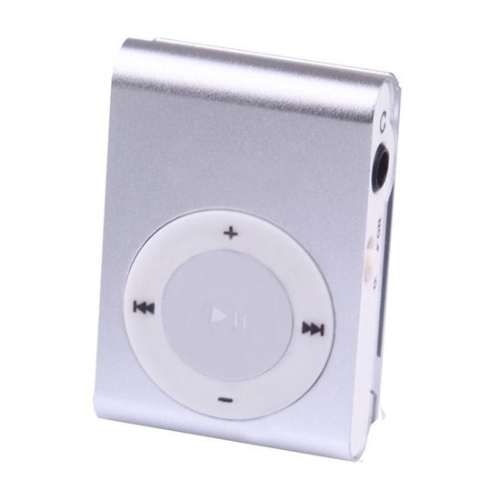 Multifon MP-11 4GB Mini Mp3 Player - Gümüş