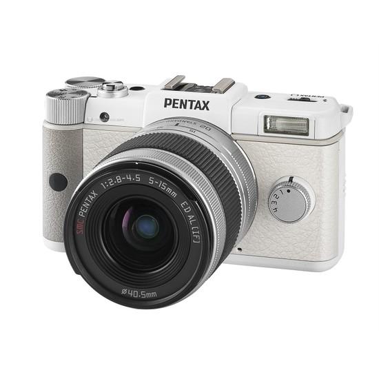 """Pentax Q+5 5-15 mm 12.4 MP 3"""" LCD Dijital Fotoğraf Makinesi"""