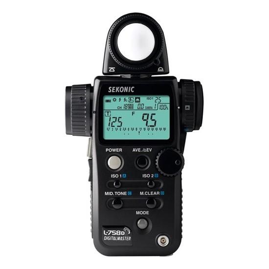 Sekonic L-758D Digital Master Işık Ölçüm Cihazı