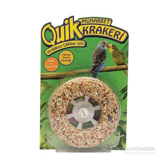 Quik Muhabbet Kuşu Krakeri Simit