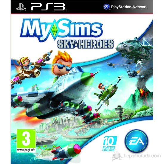 My Sims Sky Heroes Ps3