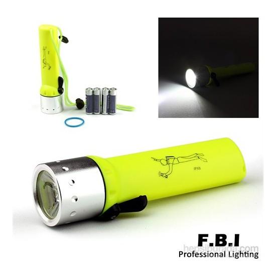 F.B.I. Pilli Su Altı Feneri - F-0814