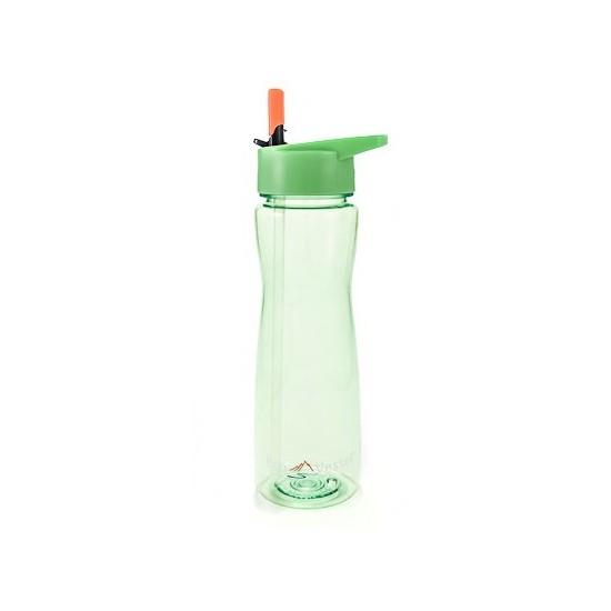 Eco Vessel Wave - Tritan Plastic Bottle With Straw Top 0,75 Lt Termos