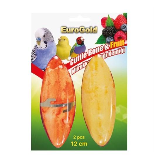Eurogold Bal Ve Meyve Aromalı Mürekkep Balığı Kemiği 2 Li 12 Cm
