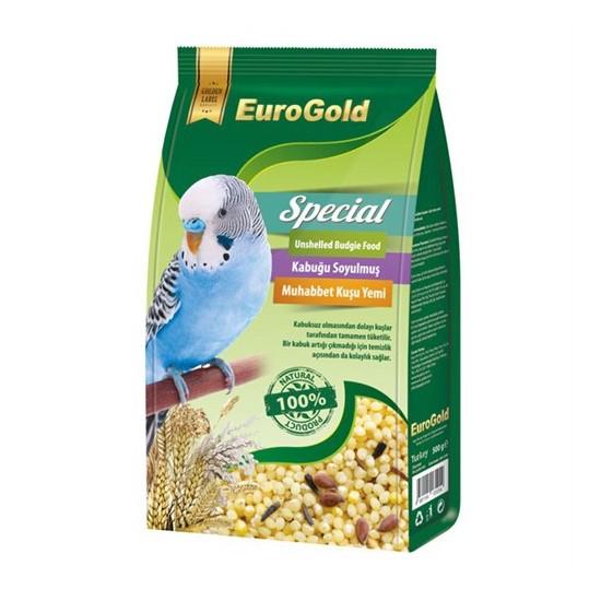 Eurogold Special Kabuksuz Muhabbet Kuşu Yemi 500Gr