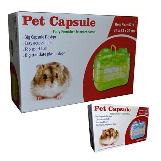 Pet Capsule Akrilik Hamster Kafesi S711