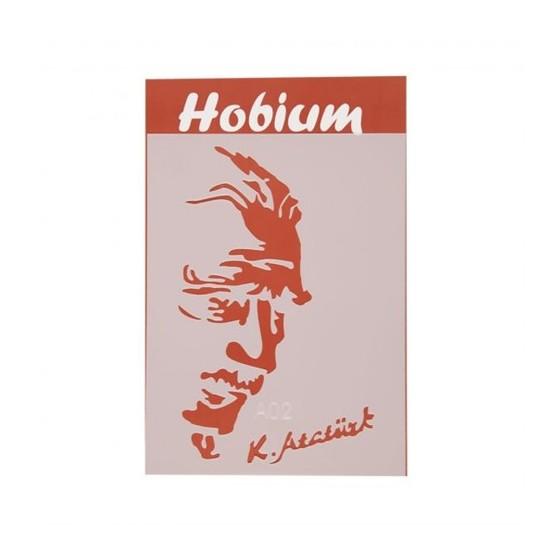 Hobium Ataturk Portesi Ve Imzasi Sekilli Stencil Sablon Fiyati