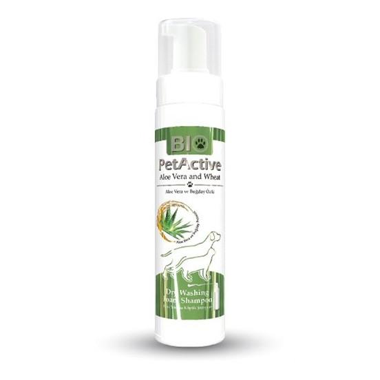 Bio petactive Aloe Vera Özlü Kuru Yıkama Köpük Şampuan 200Ml