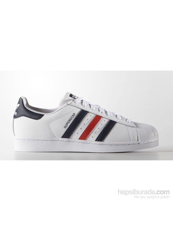 adidas Superstar Foundation Erkek Beyaz