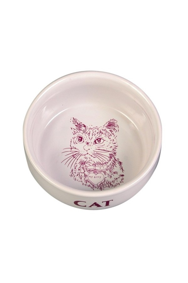 Trixie Cats Water and Food Bowl