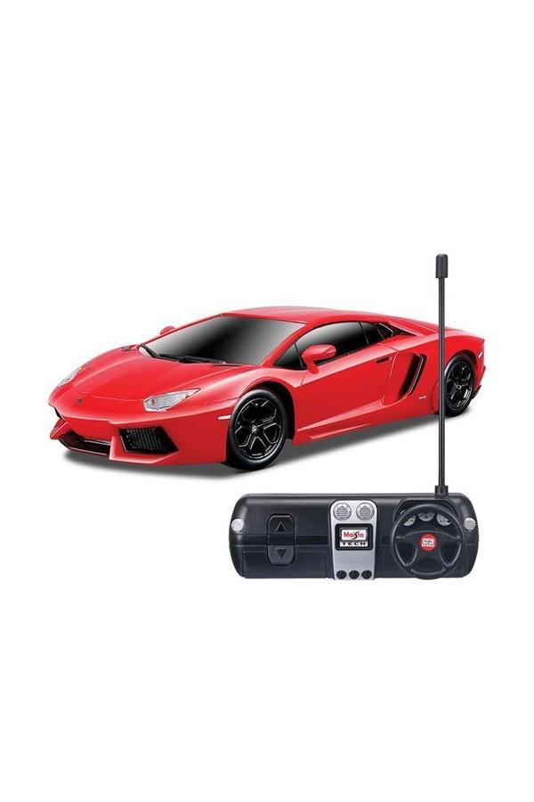 1:24 Maisto Tech Lamborghini Aventador Lp / C Car Red