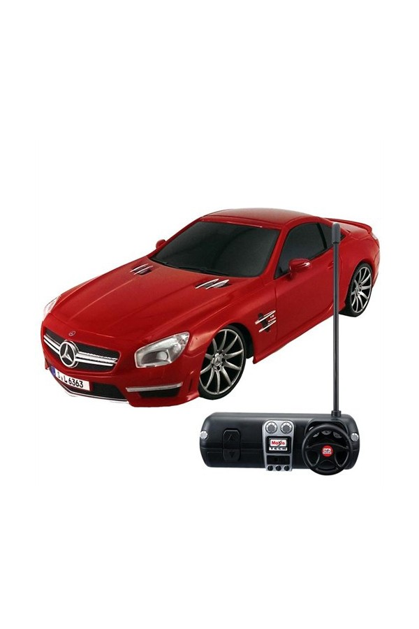 1:24 Maisto Tech Mercedes-Benz SL 63 AMG / C Car Red